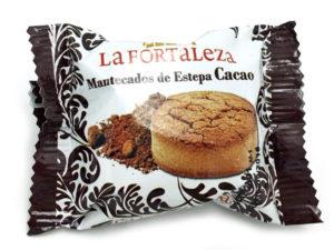 Mantecados de Estepa Cacao envuelto La Fortaleza