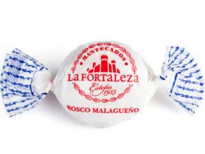 Imagen de rosco malagueño de estepa La Fortaleza con su envoltorio