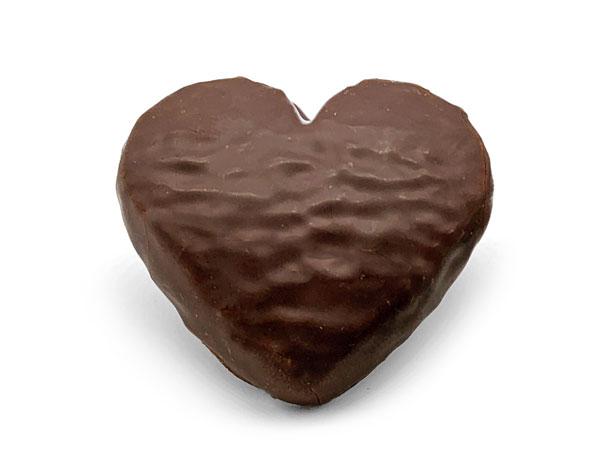 Corazones de chocolate por San Valentín