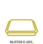 Blister 6 unidades